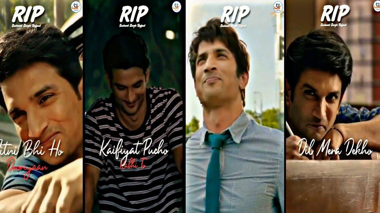 RIP 🥺😢 Sushant Singh Rajput |Gone Too Soon| KhairiyatSong | StatusAlbumAk