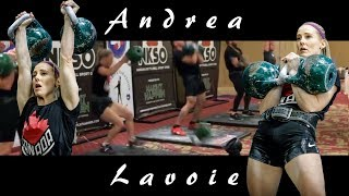 🇨🇦 Andrea Lavoie | 50 reps in long cycle with 2 X 24 kg kettlebells (2018)