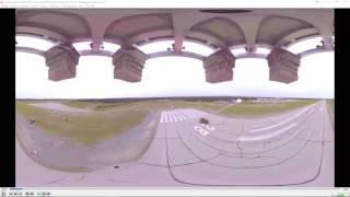 """""""Саморазоблачение"""" невозможности использования панорамного видео в теории Плоской Земли."""