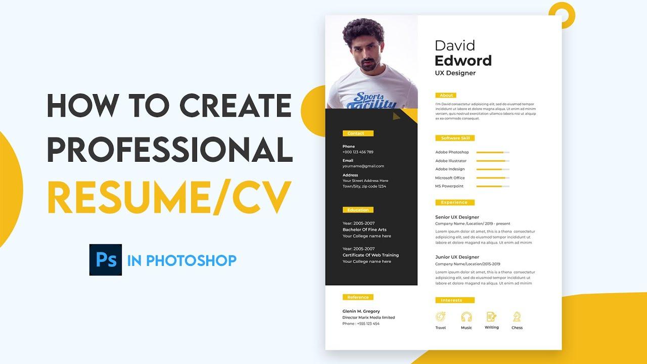 how to create a resume template  u2013 resume kaise banaye