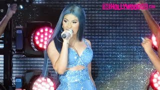 Cardi B Freestyles, Has A Wardrobe Malfunction & Hypes Up The Crowd At The California Mid-State Fair