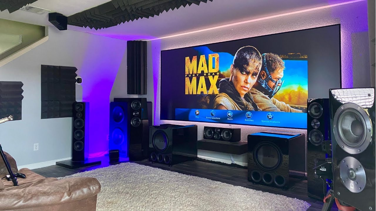 $55,000 9.1.6 Dolby Atmos 8K Home Theater Tour & Demo Lessons Learned and Why