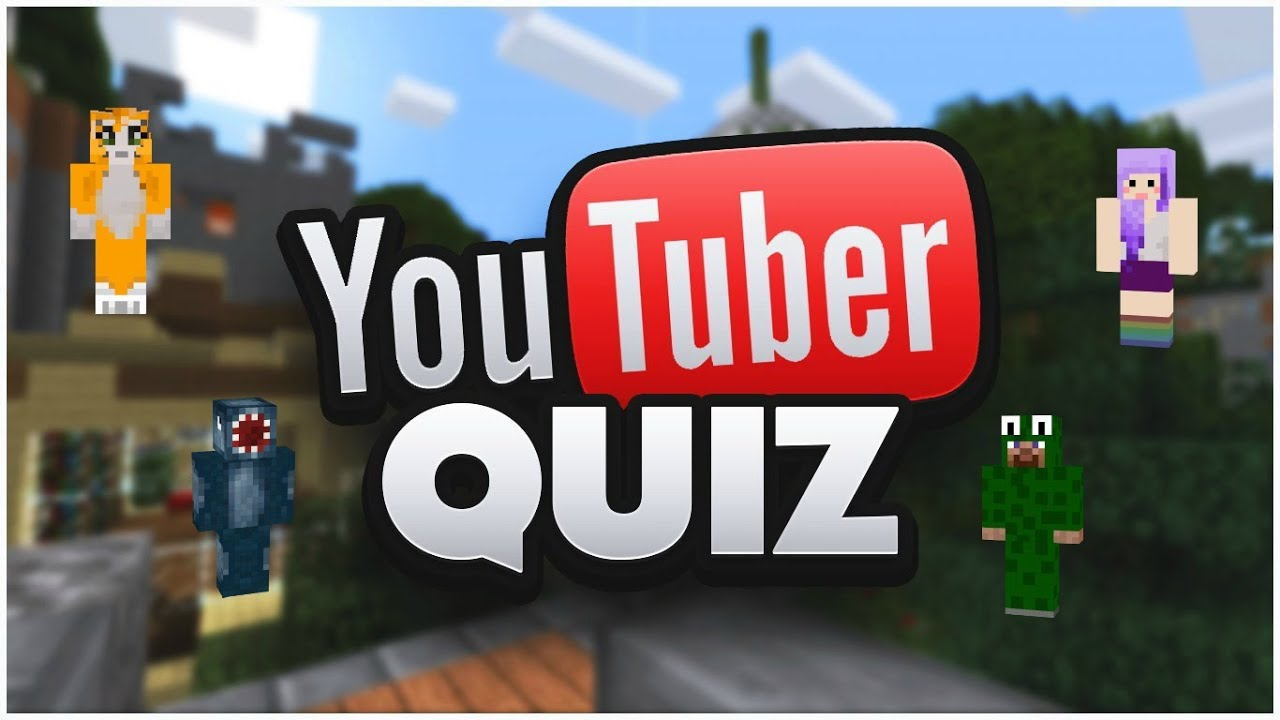 Minecraft Maps PC   Minecraft Youtubers Quiz   Guess The Youtuber [1]    YouTube