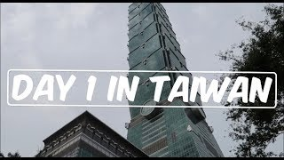Gambar cover Day 1 in Taiwan [Travels, Airbnb Tour, Taipei]