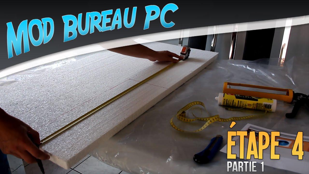 Projet Mod Bureau Pc tape 4 Construction de la maquette partie