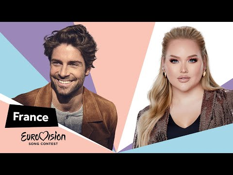 Eurovisioncalls Tom Leeb - France 🇫🇷 with NikkieTutorials