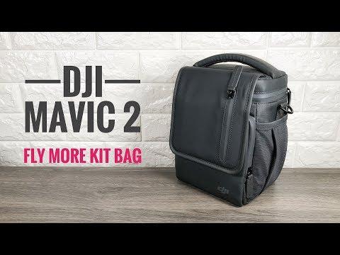 a4bdd57dafd DJI Mavic 2 Series Fly More Kit Shoulder Bag | How To Pack - YouTube