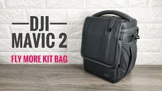 DJI Mavic 2 Series Fly More Kit Shoulder Bag | How To Pack