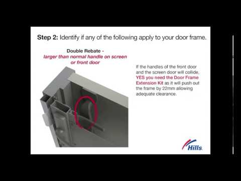 Why I need a Door Frame Extension Kit - YouTube