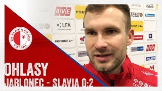 OHLASY | Jablonec - Slavia 0:2