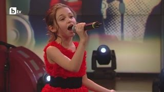 "Krisia Todorova: Singing- ""One Bulgarian Rose"" in the Grand Final"