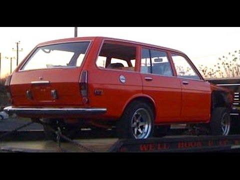 perfect datsun 510 wagon bluebird sss ka24de swap and