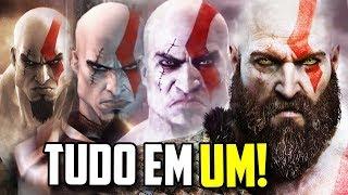 TODOS OS GOD OF WAR EM UM ÚNICO VÍDEO!