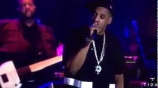 Watch jay z diss spotify and youtube in epic freestyle at watch jay z diss spotify and youtube in epic freestyle at exclusive tidal concert malvernweather Choice Image