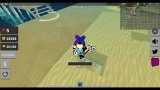 Roblox che gioca #1 gioco di picconi di sabbia