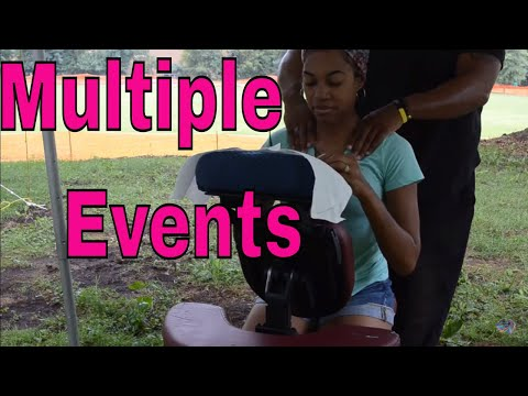 What To Expect When Working Multiple Events As A Mobile Spa  Business Owner & CEU Instructor.