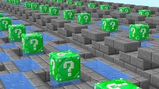 Minecraft 1v1v1 EMERALD LUCKY BLOCK RACE! (Minecraft Mods) w/PrestonPlayz, Vikkstar123 & MrWoofless