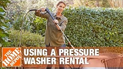 How to Use the Mi-T-M Gas Pressure Washer Rental | The Home Depot
