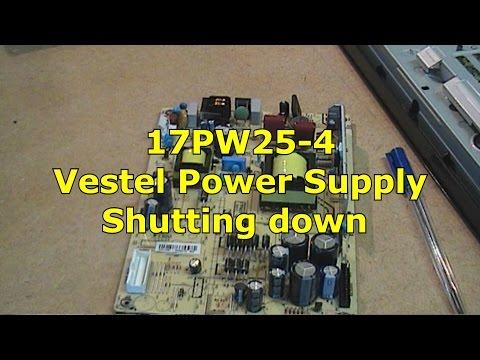 17PW25-4 V1 Vestel PSU Repair