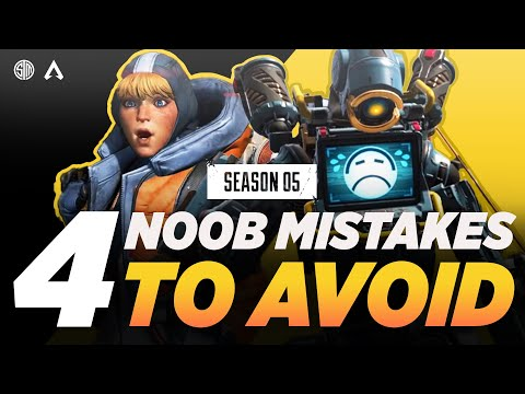 Apex Legends: TOP 4 Crazy Mistakes New Players Make And HOW To Avoid Them! Gameplay TSM ImperialHal