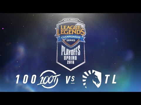 100 vs. TL  | NA LCS Spring Playoffs | Finals Game 1 | 100 Thieves vs. Team Liquid (2018)