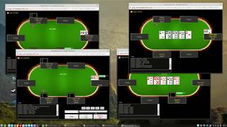 Poker Development #7 - Web Client Demo