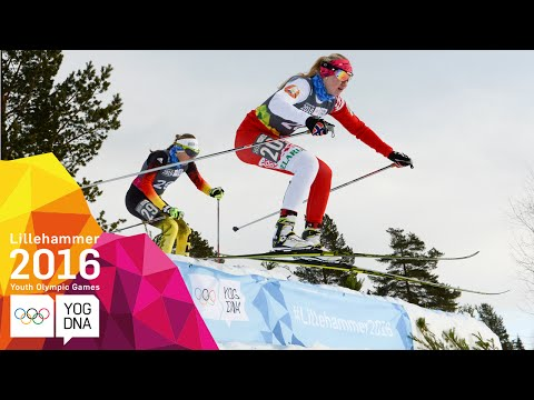 Cross-Country Skiing - Cross Free - Full Replay | Lillehammer 2016 Youth Olympic Games