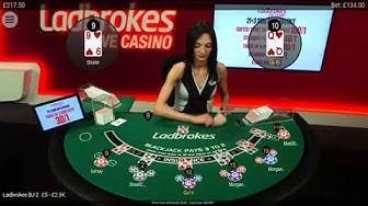 Late night Black jack session @ ladbrokes casino.