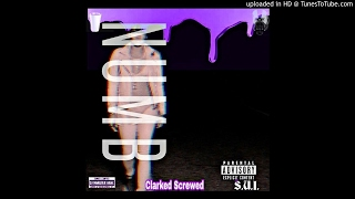 Cassie Numb Ft Rick Ross Chopped DJ Monster Bane Clarked Screwed Cover