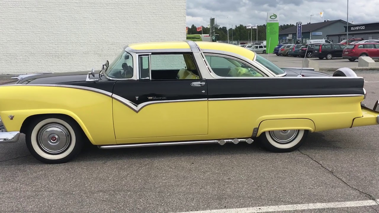 Ford fairlane crown victoria 1955 såld sold
