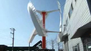 Vertical Axis Wind Turbine ENERGYN