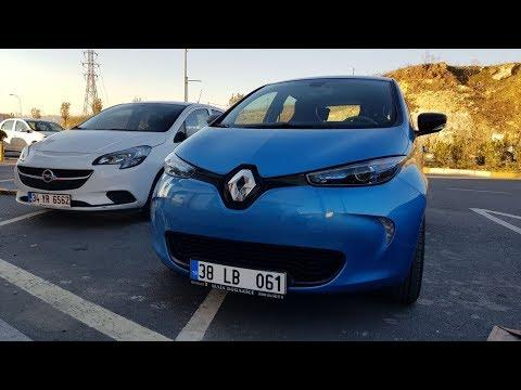 Renault Zoe ze40 (R90) Elektrikli Araba Kayseri - İstanbul 800km UZUN YOL deneyimi