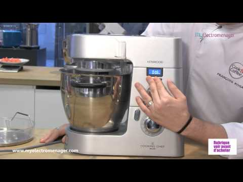 Kenwood cooking chef prise en main doovi for Cooking chef vs thermomix