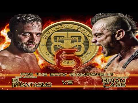 "ECCW MOTW El Phantasmo (c) Vs ""The F'N Machine"" Brian Cage for the ECCW Championship"