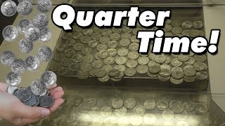 Time to win some Quarters! - Coin Pusher