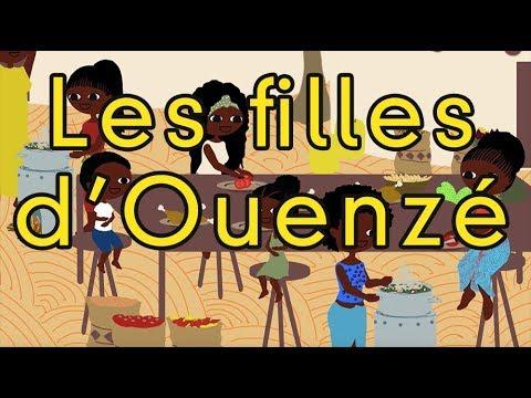 Les filles d'Ouenzé - comptine africaine - enfant - maternelle - danser