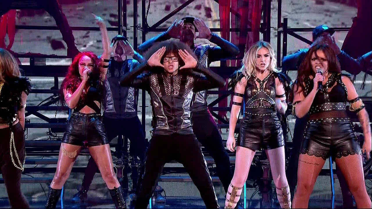 """Little Mix Raunchy """"Salute"""" Performance on Britain's Got Talent with ..."""