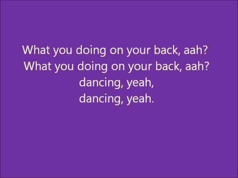 Glee - You should be dancing - Lyrics
