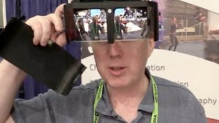 Smoke VR HMD for Virtual Reality & Augmented Reality debuts @ Siggraph 2015