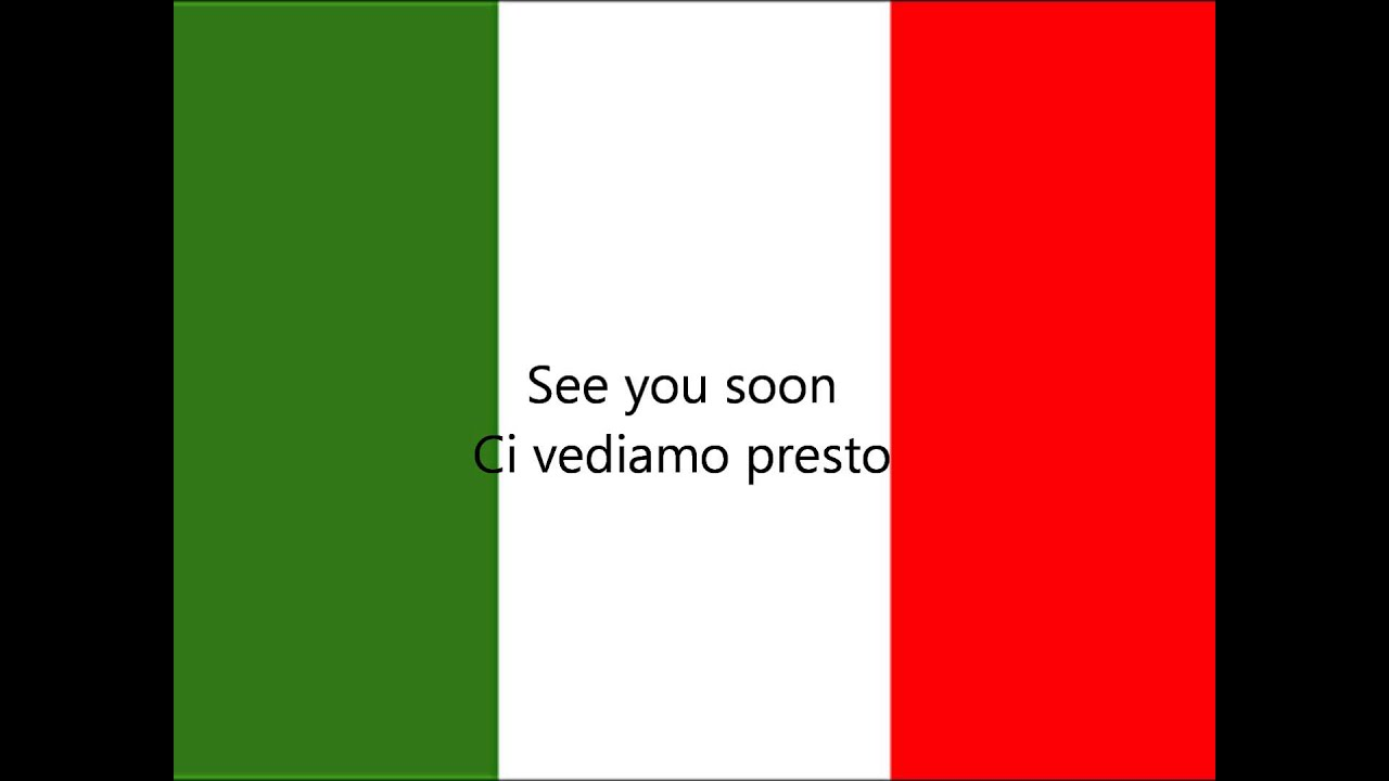 Learn italian farewell expressions youtube learn italian farewell expressions kristyandbryce Image collections