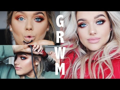 GRWM: CONCERT EDITION! Make up, Hair & Outfit! | Rachel Leary
