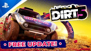 Dirt 5 - Free Content Update Trailer | PS5, PS4