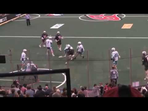 Boston Blazers Goals vs Rochester Knighthawks highlights from 02/06/2010