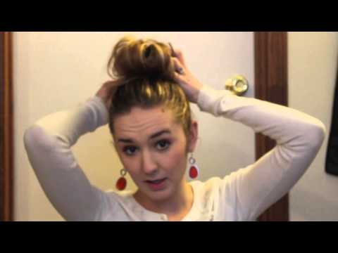 HAIR || topknot tutorial