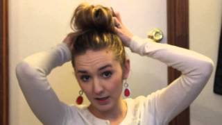 topknot tutorial Thumbnail