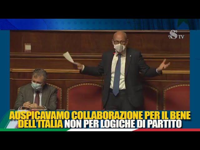 La dichiarazione di voto del Sen. de Bertoldi sul DL Sostegni