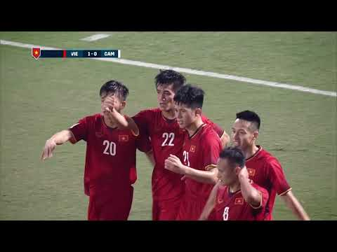 Nguyen Tien Lin 39' vs Cambodia (AFF Suzuki Cup 2018 : Group Stage)