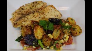 Healthy Potato Salad, Easy, delicious Recipe