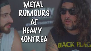 """""""Metal Rumours"""" at Heavy Montreal"""