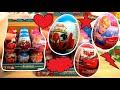 Spiderman Cars Princess 18 Kinder Surprise Eggs #62